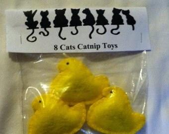 Easter Chick Organic Catnip toys
