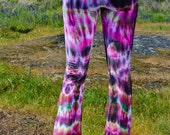 Tie Dye Festival Yoga Dance Pant - Gypsy Dead Head Tights - Burning Man Legging