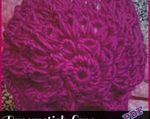 Broomstick Lace Slouch Hat Pattern PDF