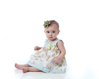 Instant Download Pattern - Baby Dress and Top sewing pattern - Downloadable PDF