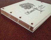 Large Personalized Wedding Album for Guest Book or Photos - Custom Printed with your Logo Motif