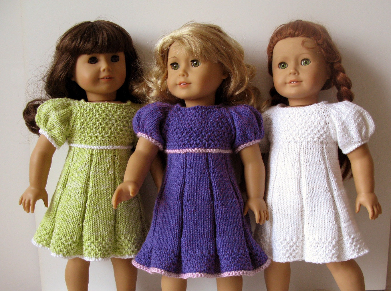 16 Knitting Patterns for American Girl Dolls - The Funky Stitch