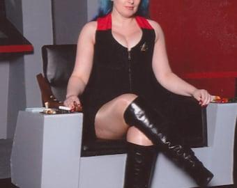 Star Trek Uniform Style Corset, Any Size