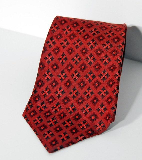 vintage jim thompson necktie mens silk tie by