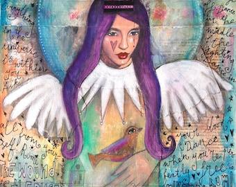 Essence of Angel - Fine Art Print