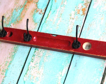 Red Rustic Level Rack