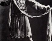 Michel Fokine Black and White Studio Portrait Print Russian Ballet Dancer  Choreographer Ballet Russes Michael Fokine