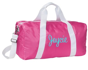 Personalized Kids\\\' Sports Duffel Bags Personalized Duffle Bag Gym
