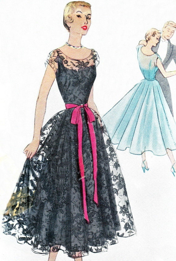 50s Prom Dress Pattern Uk Formal Dresses