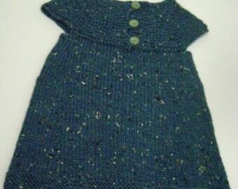 Blue Tweed Dress, Jumper, Tunic