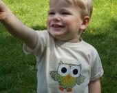 Organic Green Owl