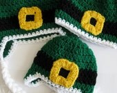 Crochet Irish St. Patrick's Day Leprechaun Hat