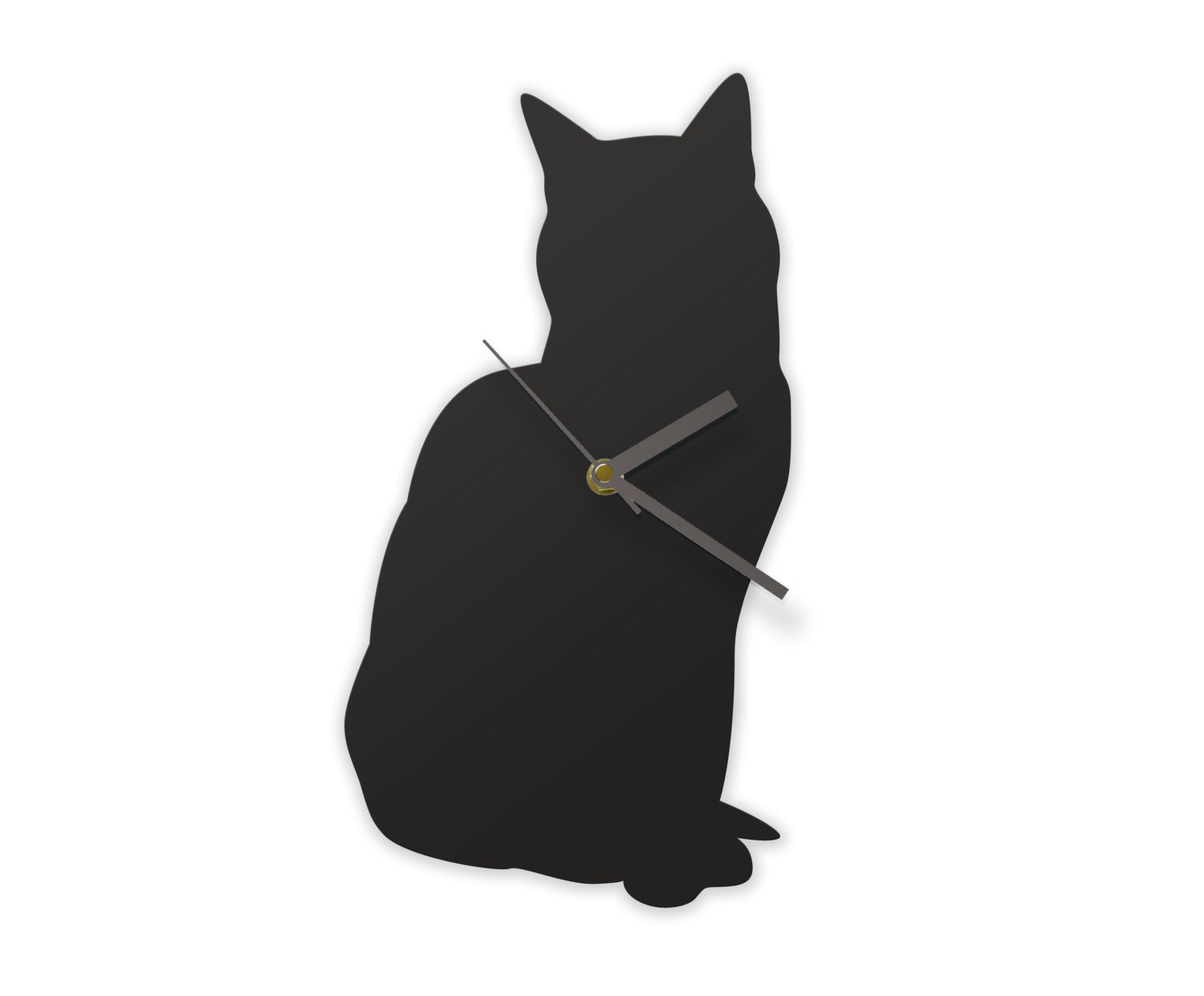 Wall clocks studio jolyon yates sitting cat clock a cat that can tell the time amipublicfo Gallery