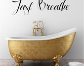Just Breathe (A) Customizable Wall Decal
