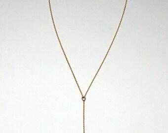Rosemary Necklace - Lariat Locket