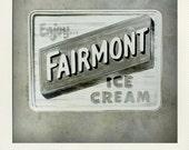 Vintage 1950s Ice Cream Parlor Display Piece - Fairmont Ice Cream