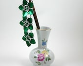 Cascading Scale Flower Hair Stick - Pick your colors