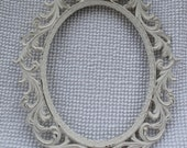 Off White Rococo Shabby Chic Frame - Made in Italy