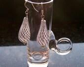 Gimlet Blown Glass Earrings
