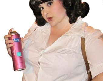 SALE Tracy Turnblad Hairspray Broadway Movie Adult Costume Wig 1960's - A True Enchantment Original