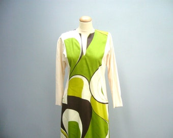 Vintage handmade 70's dress