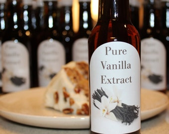 Homemade THREE Bean Pure Endless Vanilla Extract- Large 5 ounces