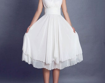 White dress wedding dress prom dress maxi dress (99)