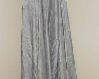 Egyptian Fusion Bellydance Silver 5 Yard Circle Skirt- 065