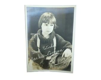1925 Silver Gelatin Hollywood Photo Jackie Coogan. Uncle Fester. Rag Man. Child Star