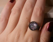 Haute Haute Haute - Nail Polish 12mm Glass Cabochon Ring