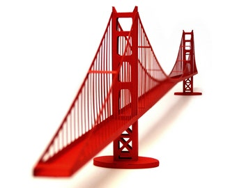 Golden Gate Bridge, pre-cut kit