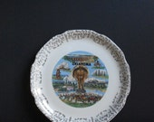 Oklahoma Love II - Vintage State Souvenir Plate