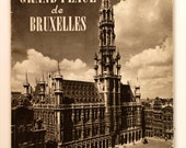 SHIPPING INCLUDED - French Book, 'La Grand Place de Bruxelles - Images of Belgique,' Photographic Book of Belgium, Lovely Gift for Collector