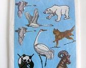 Simplicity Transfer Pattern 7116 WWF Animal Embroidery Transfers