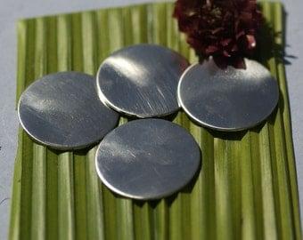 Nickel Silver Blank 32mm Disc Round Circle Metal Blanks Shape Form