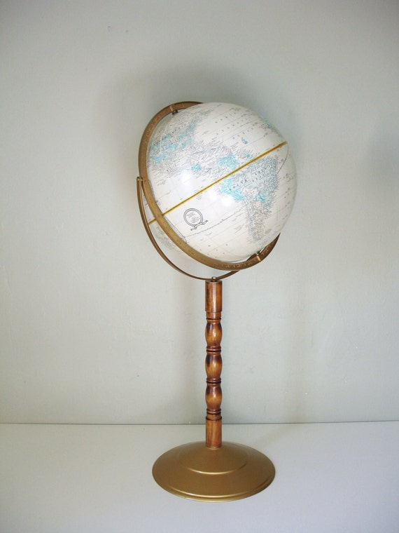 Cram S Imperial World Globe With Floor Stand