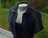Capelet of Many Colours and Fibres - PDF pattern only