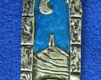 Glastonbury Tor Kitty Pendant