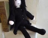 Severus Snape doll knitting pattern Harry Potter