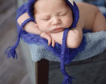 Newborn photo prop, newborn hat, newborn boy, newborn girl, knit newborn hat, newborn props