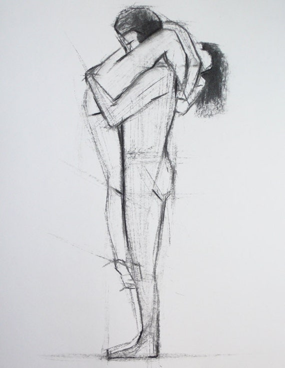 Imgs For > Drawings Of Hugging