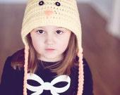 Crochet PATTERN - Chick Pixie Hat - Instant download