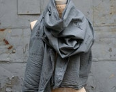 Men's Gray Scarves /  Fashion  Accessories / Women's Scarves / Women's Accessories