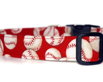 Take me out to the Ball Game,,,,,Custom Baseball Dog Collar