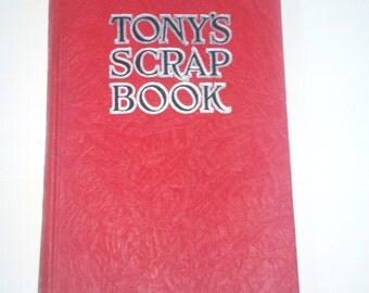 Tony's Scrap Book - Vintage Books - 1930s Radio Memorabilia by Anthony Wons