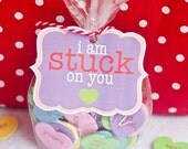 Valentine PRINTABLE 'I Am Stuck On You' DIY Valentine by Love The Day