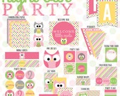Night Owl Party PRINTABLE Full Collection from Love The Day
