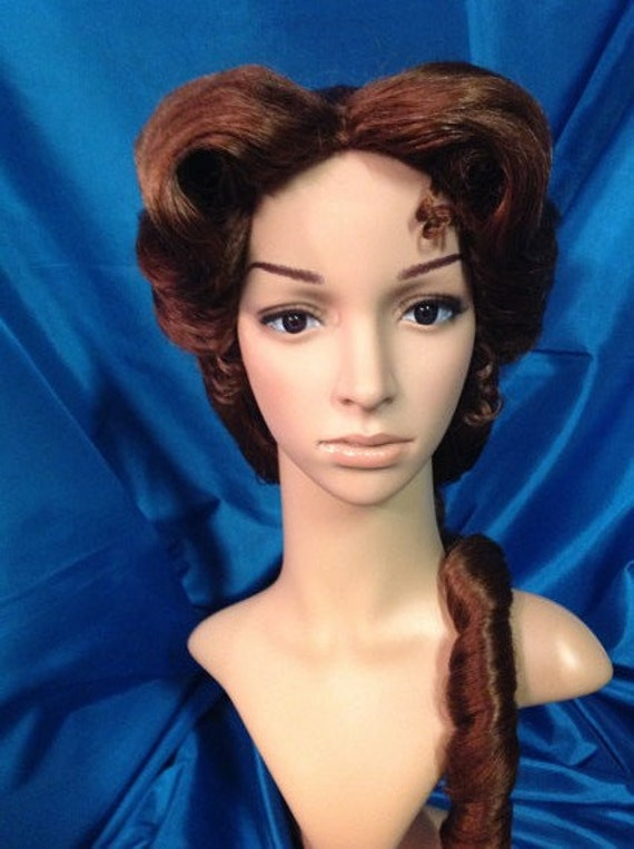 Belle Blue Dress Wig Beauty and the Beast