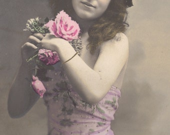 Mlle.Gregoire, Belle Epoque Performer by Sazerac, circa 1905