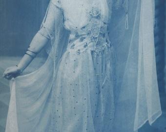Flapper in Harem Costume, 1922